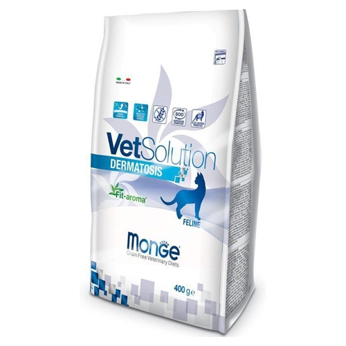 Monge VetSolution Cat Dermatosis диета для кошек Дерматозис  400 г