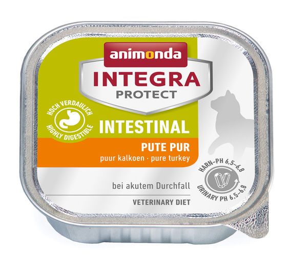 ANIMONDA INTEGRA ламистр 100 г диета для кошек ЖКТ индейка